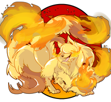 Ninetales by lizard-keys