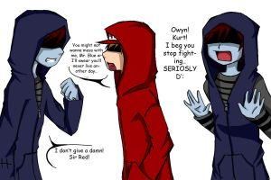 Mr Blue Sir Red XDDD by YwiiOax