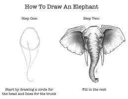 How To Draw An Elephant by SumtimesIplaytheFool