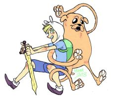 FINN n JAKE by muura