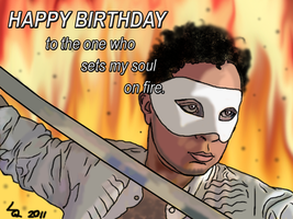 Happy Birthday to my beloved by LordQuadros