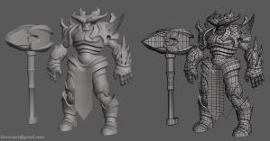 MMO monsters set2 by jips3d