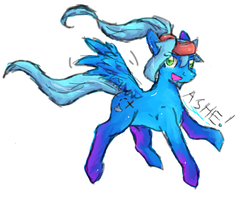 Pony Ashe by ShadowDark222