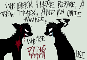 We're Dying by InsaneNaughtyDog