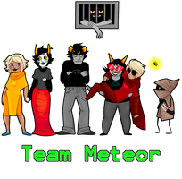 Team Meteor by ameliestuck