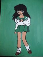 School Girl Kagome by SangoxandxKirara