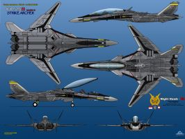 IFX-25S Mark II (Deep) Strike Archer by haryopanji
