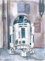 R2 D2 by mikopol