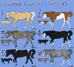 Design Set 2 by painted-cowgirl