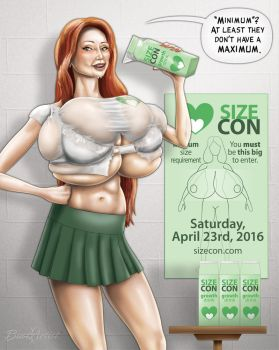 SizeCon Poster Contest Deadline This Sunday 2/28! by SizeCon