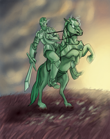 The Green Knight by JillValentine89