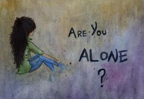 Are you alone ? by Driif