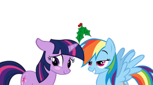 TwiDash Mistletoe - Transparent by MintBronyCrunch