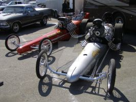 Two historical dragsters by Jetster1