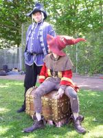 Rincewind and Theoderich 02 by poisonmilow