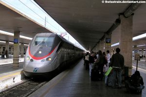 FS ETR 500 at Firenze by SwissTrain