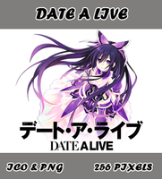 Date A Live Myk_Anime Folder Icon by Myk-2103