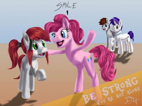 BE STRONG my little Pegasister by DSC-the-Artist