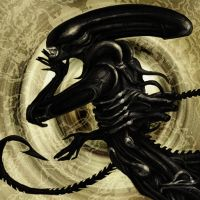 H.R. Giger Alien by nove