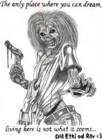 Eddie from Iron Maiden by Ravenkie