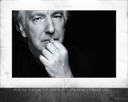Alan Rickman - wallpaper 4-1 by transparentbird