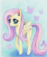 Caring Fluttershy by xxswanfeather
