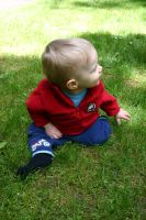 Baby in the Grass 6 by ArtistStock