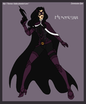 Commission - Huntress Redesign by Femmes-Fatales