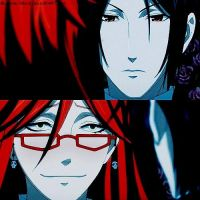 Black Butler: Sebby and Grell by Madame--Black