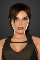 Lara Croft (Tomb Raider Underworld) - Portrait by lishaoran00