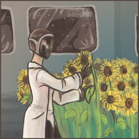 The Doctor's Flowers by outonalark