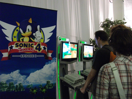 Sonic 4 at SoS by f-sonic