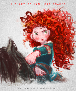 Merida from Animated Girl Power Collection by Ram-Imaquinario