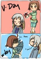 white day to v day by aikoshadow