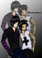 Disasterpiece Cover by RosyMorbid21