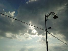 This is my hometown's Sky by Alphonse97