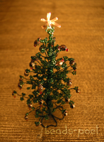 Christmas tree VII by beads-poet