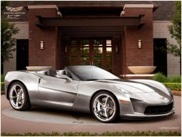 Corvette C7 Convertible by Jakusa1