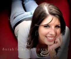 senior pic red slide by sarahlaine2107