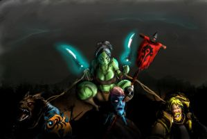 Rawr me eat your Brains  (Warcraft high LvL  PVP) by wadwood
