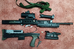 Airsoft L85A2 Stripped For Cleaning by Luckymarine577