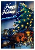 Create a Holiday Card by SET07