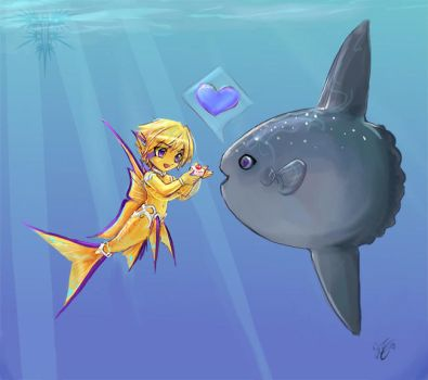 Ori and the sunfish by Chael