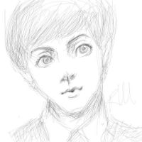 Paul McCartney doodle by greengal14
