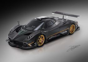 pagani zonda r by Ryancy