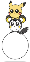 CM: Emolga's Balloon Belly Rides by Ambipucca