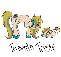 Tormenta Triste by Black-Rose-Emy