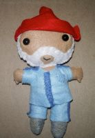 Steve Zissou Plushie by kiddomerriweather