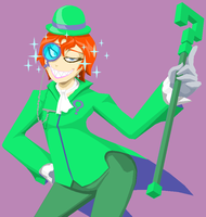 TU Riddler by Tyrranux