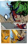 Marvel Spidey Sample Page 1 Colours by samnoonan